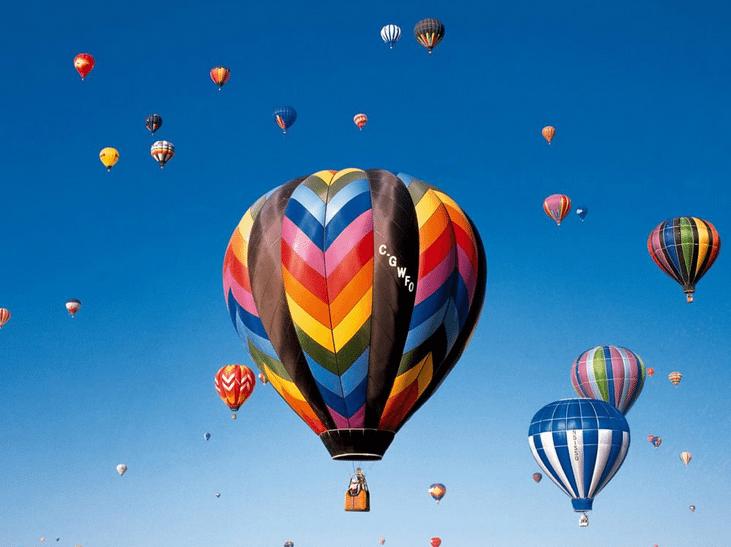 hot air balloon gift