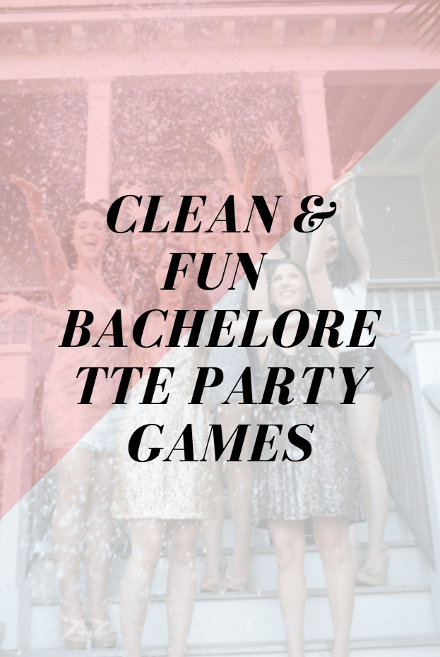 clean bachelorette games