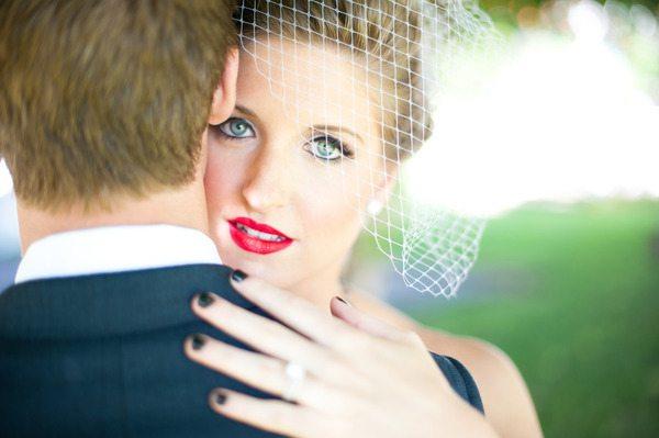 Bold Bride Manicure