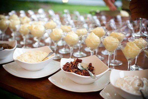 Mashed Potato Bar Wedding