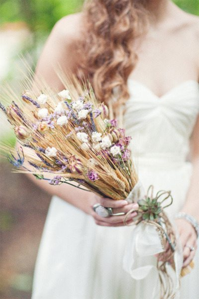Fall Wheat Bouquet