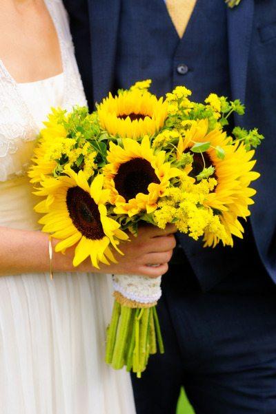 Fall Sunflower Bouquet