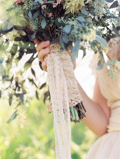 Fall Queen Anne's Lace Bouquet