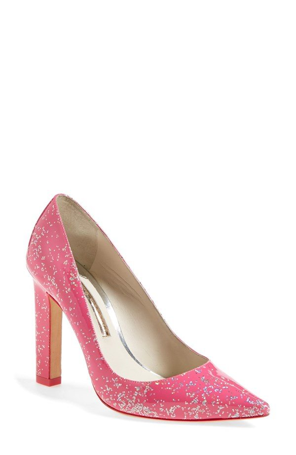 hot pink wedding shoes pink pumps for the big walk the aisle 4860