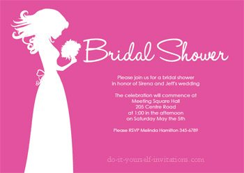 Should You Print Your Own Bridal Shower Invitations?