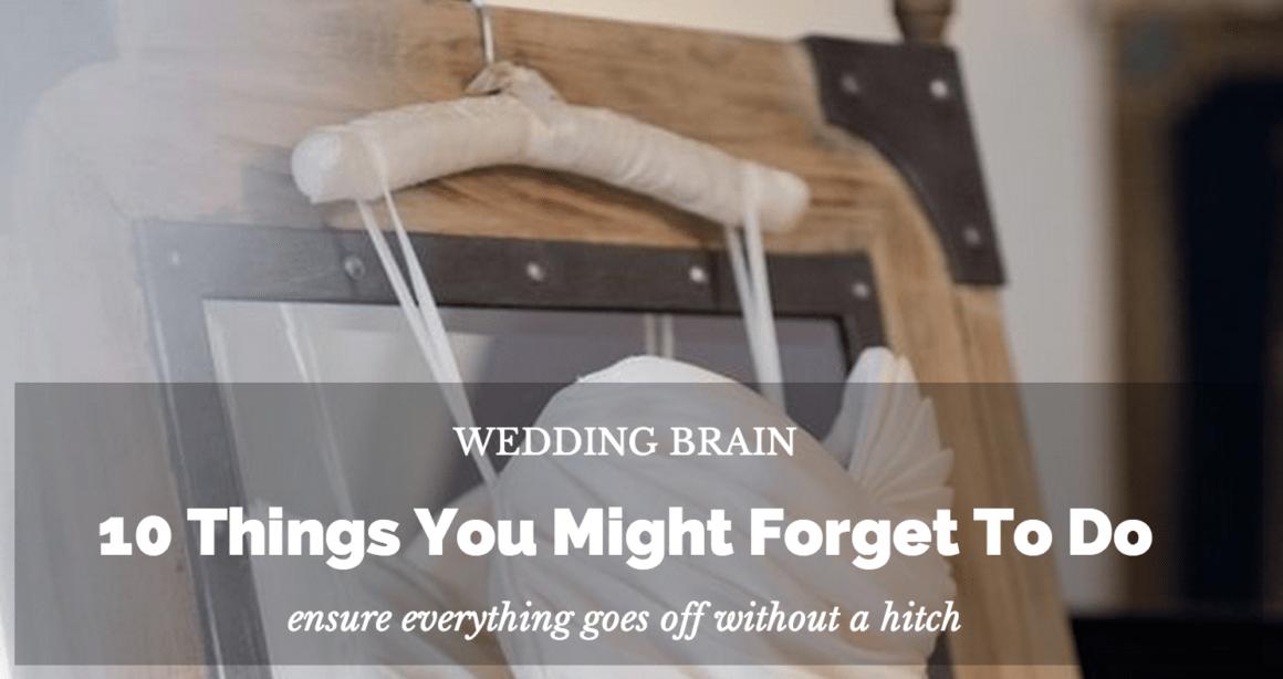 wedding brain