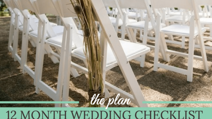 month by month wedding checklist