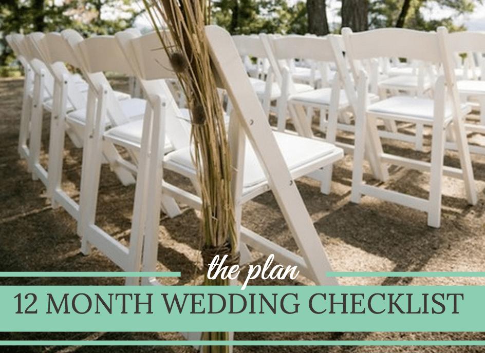 month by month wedding checklist