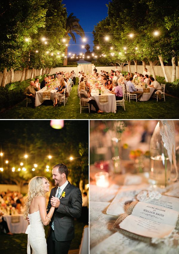 Backyard Wedding Ideas Somethingturquoise Reception