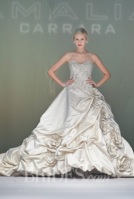 Dramatic Wedding Ball Gowns