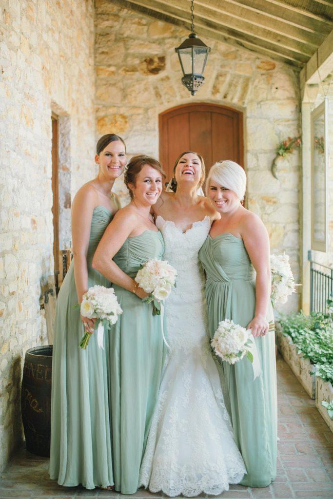 Sage Green Fall Bridesmaids