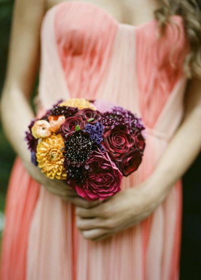 Fall Wedding Bridal Bouquets