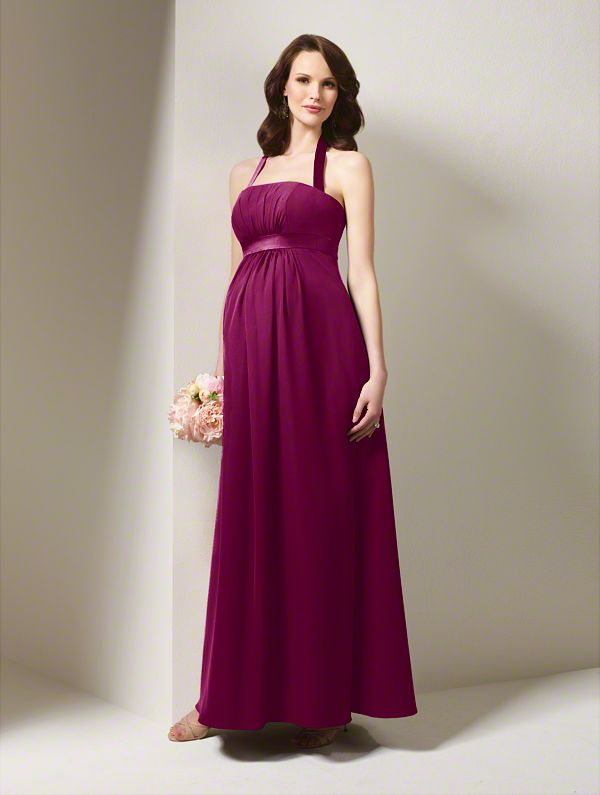Unique & Beautiful Maternity Bridesmaids Gowns | | TopWeddingSites.com