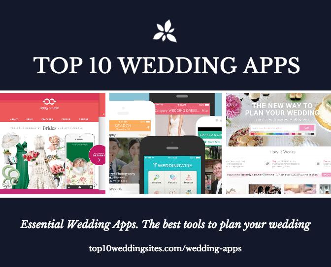 top wedding apps