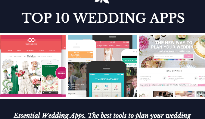 top wedding apps