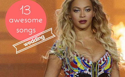 13 awesome wedding songs