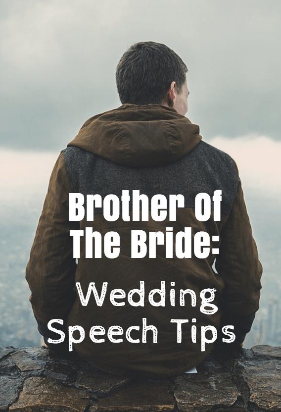 Brother Of Bride Speech