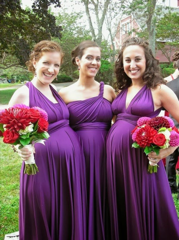 Maternity Bridesmaids Gowns
