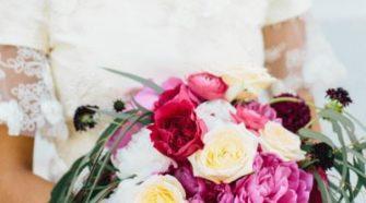 Purple Plum Bridal Bouquets