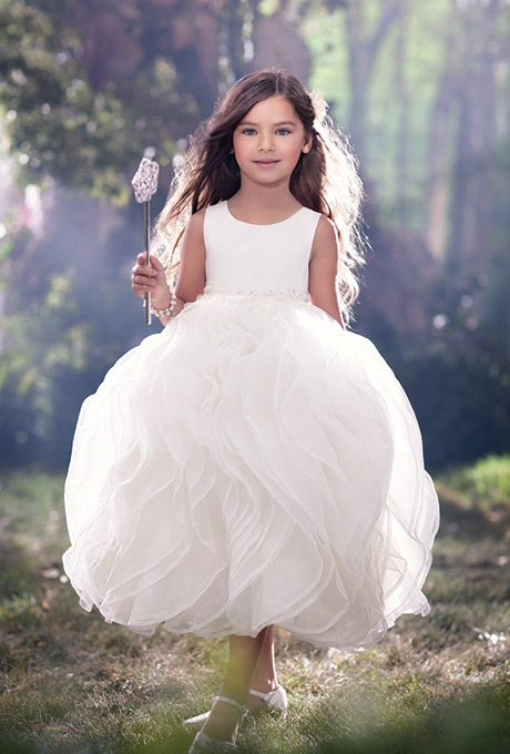 wedding dresses flower girl flower dresses that emulate the s 9311
