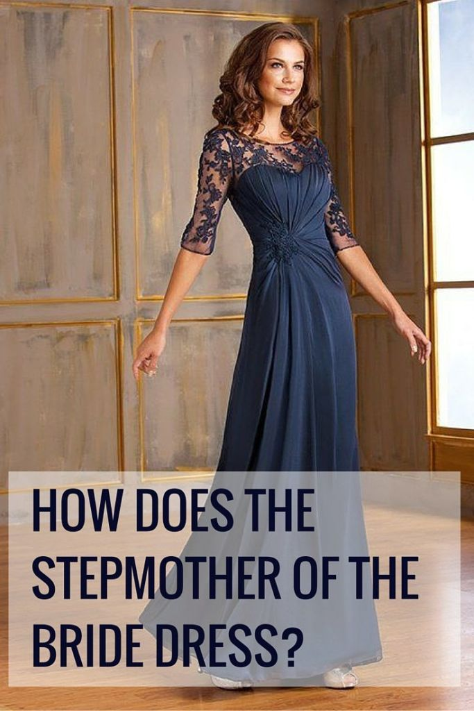what does stepmother wear to wedding