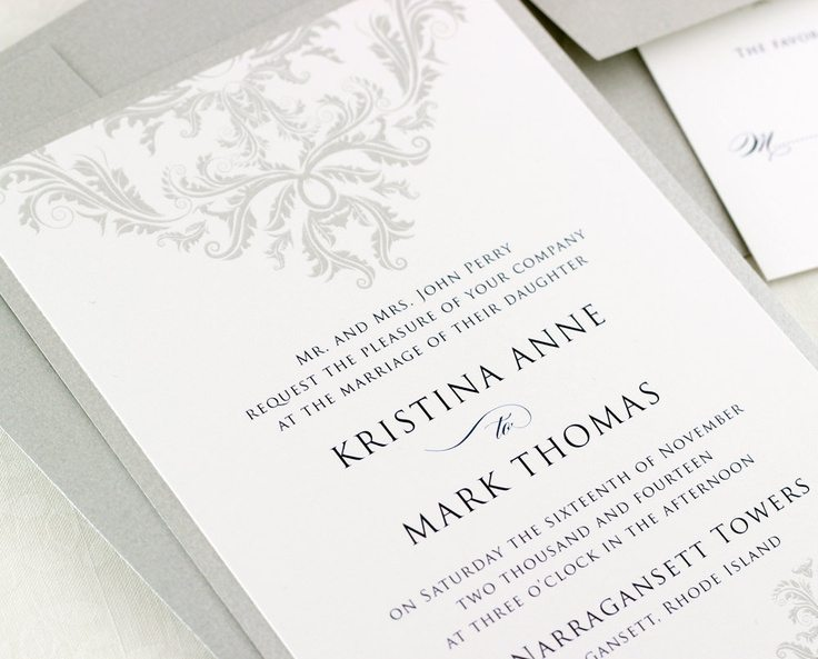 wedding invitation examples