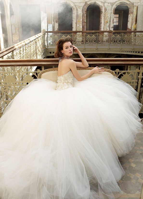 Tulle Fall Wedding Dress
