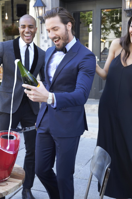 Fall tuxedos wedding