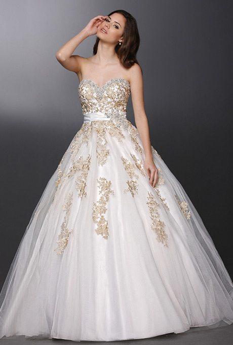 Whimsical, Christmas Bridal Ball Gowns | | TopWeddingSites.com