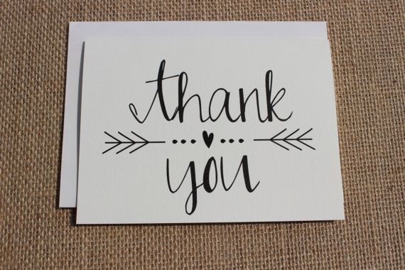Etiquette For Writing Thank You Notes For Wedding Gifts : Wedding Thank You Card Wording & Etiquette