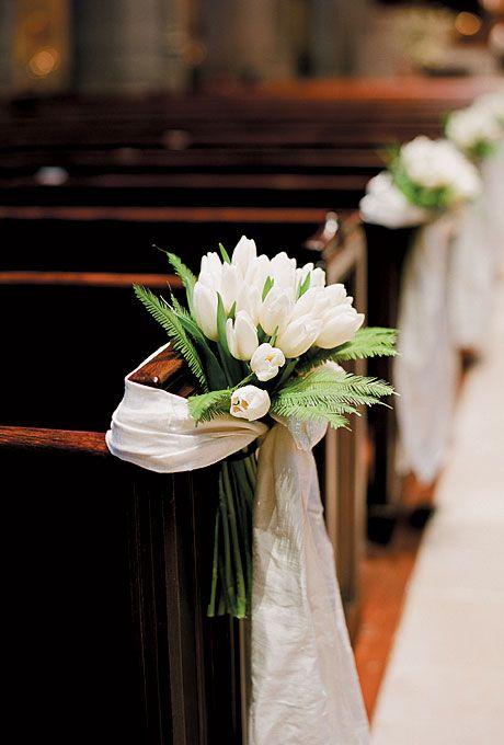 decorate church for wedding wedding pew bows. Black Bedroom Furniture Sets. Home Design Ideas