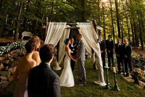 small wedding ceremony