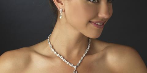 ivory wedding dress jewelry