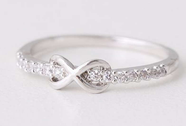 One of many promise ring designs