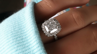 F Stamp Inside Engagement Ring  What Is It?
