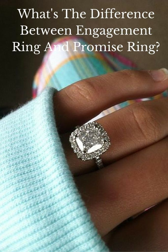 promise ring vs engagement ring