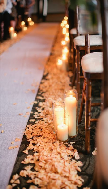 Decorate church for wedding wedding pew bows for Aisle decoration for wedding