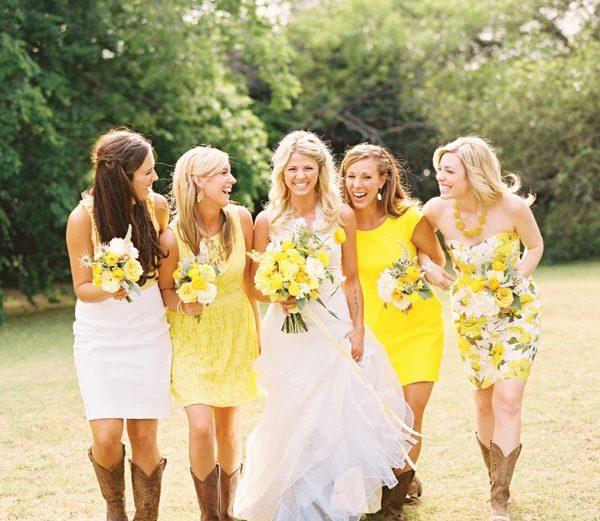 southern wedding bridesmaids