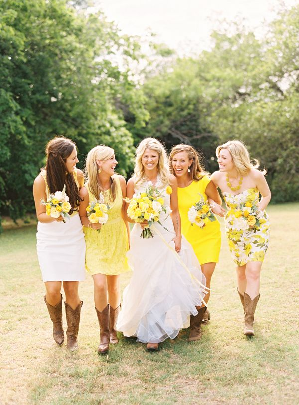 southern wedding bridesmaids
