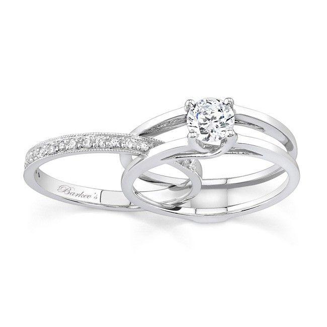 interlocking-wedding-rings-diamond-wedding-sets