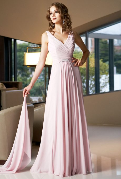 Blush Pink Mother of the Bride Dresses