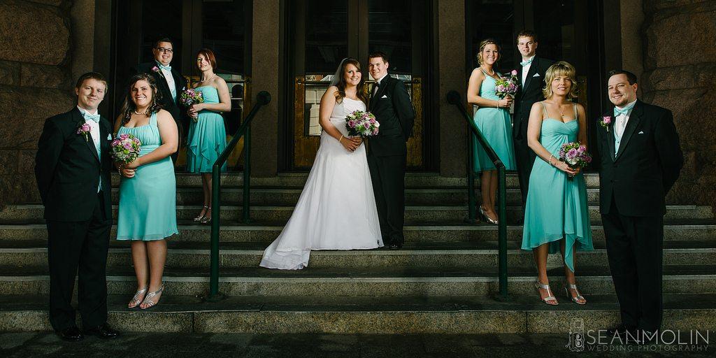 bridal party exclusion
