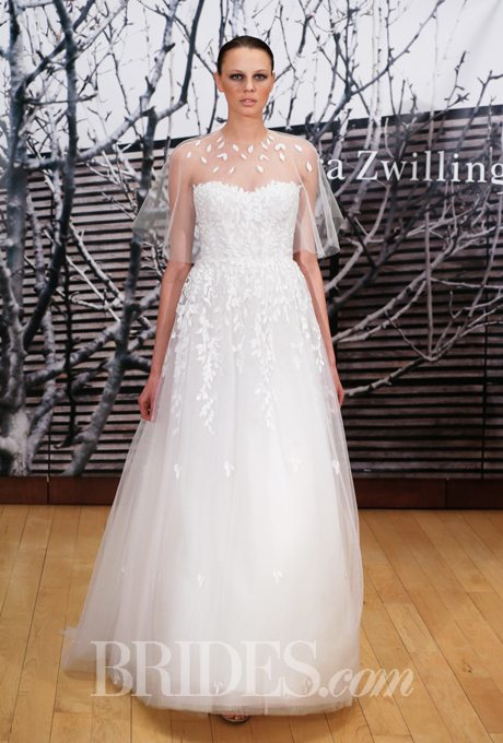 Wedding Gowns with Matching Capes