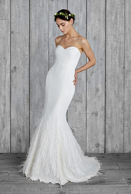 Valentine S Day Inspired Wedding Gowns From Blush To Glam