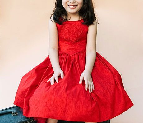 Valentine's Day Flower Girl Dresses