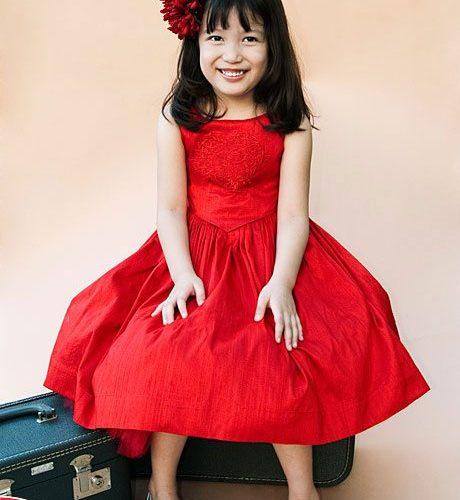 Valentine's Day Flower Girl Dresses