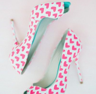 Colorful Wedding Day Shoes