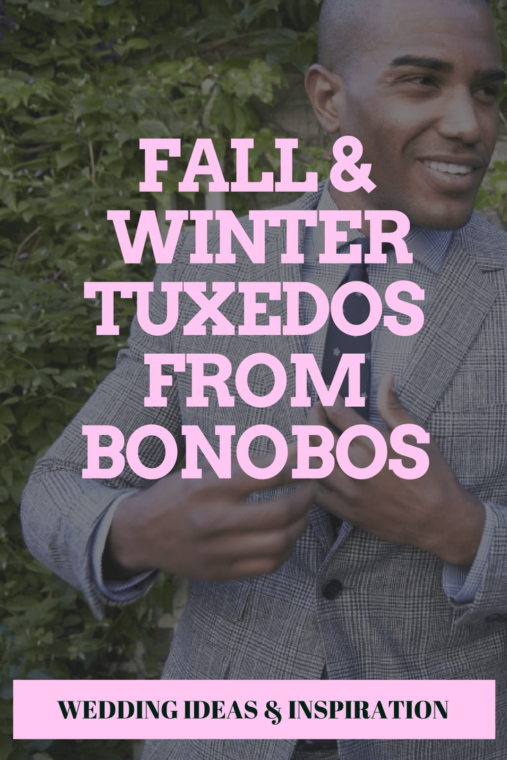Fall & Winter Tuxedos from Bonobos