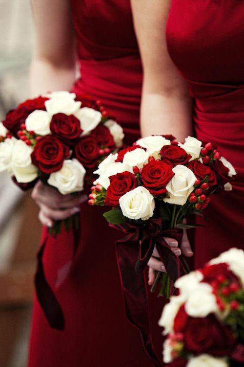 red bouquetts