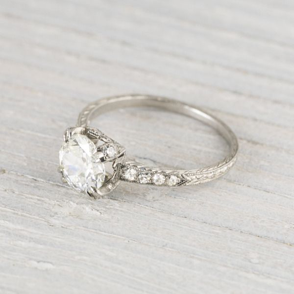 engagment ring antique